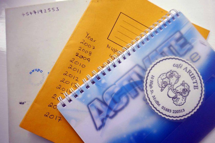 Our campervan journals