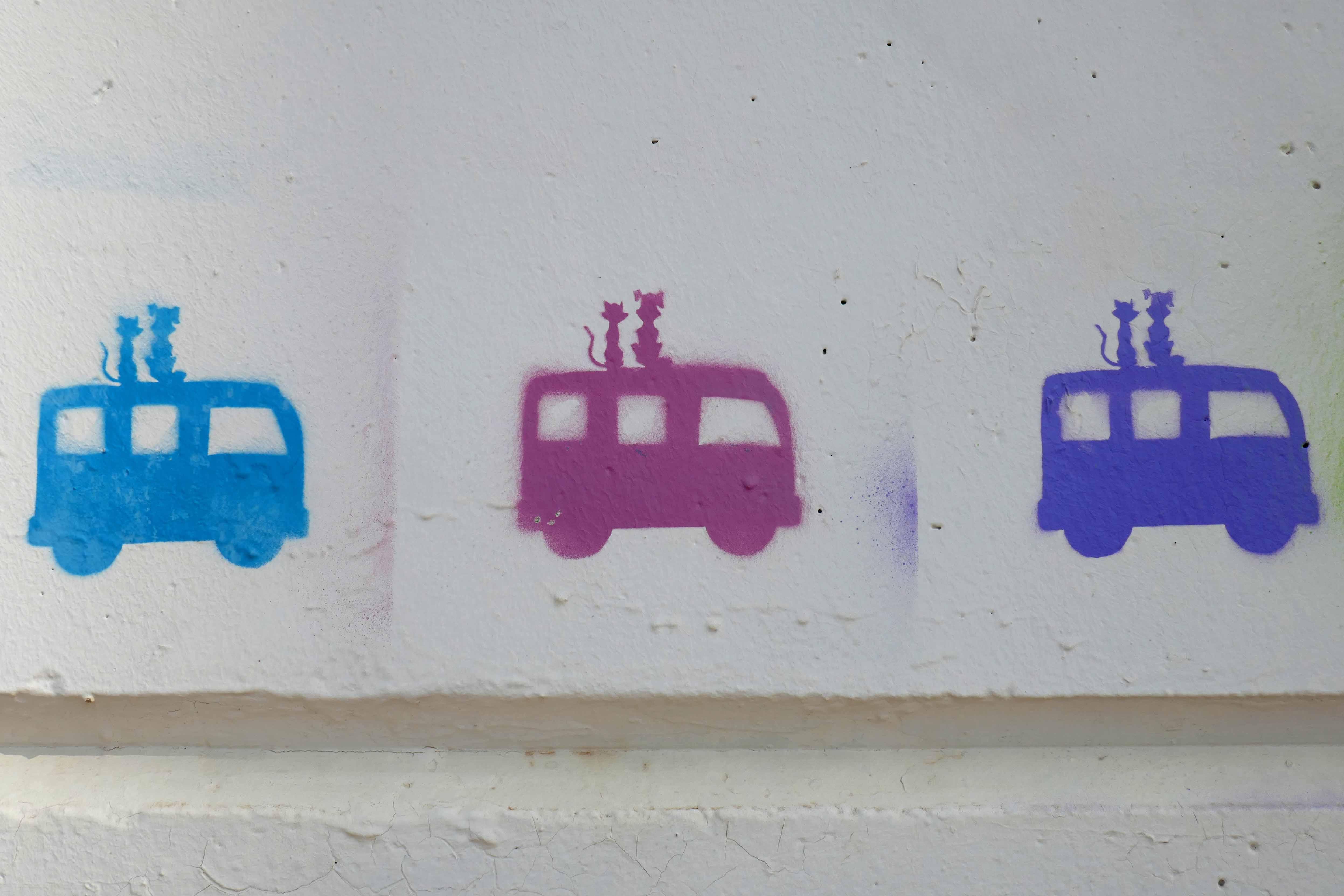 van grafitti